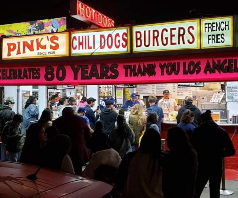 Richard Pink of Pink's Hot Dogs in LA